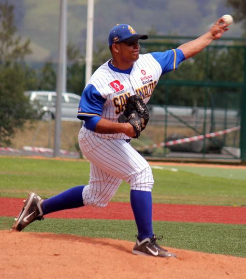Jose Romero (Beisbol Navarra-San Inazio 15.07.12)