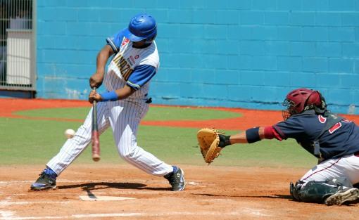 Raul Morban (Beisbol Navarra-San Inazio 16.06.13)