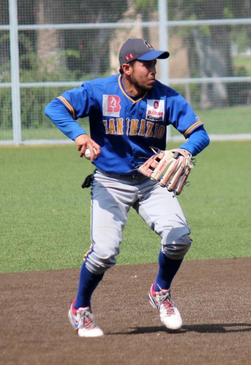 Freddy Noguera San Inazio-Astros 27.07.14 DH