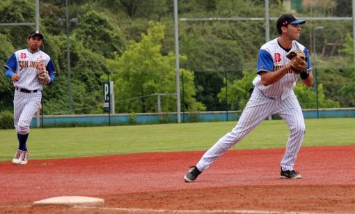 Yasiel Pino (2) Marlins-San Inazio 12.07.14 DH