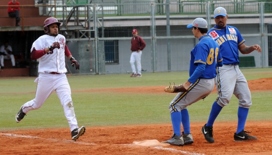 Juan Lopez - Markel Mendizabal San Inazio - Beisbol Navarra DH 17.04.16