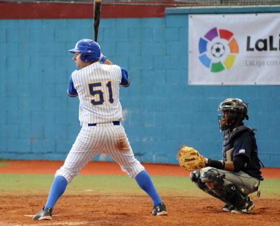 Thomas Di Benedetto Beisbol Navarra-San Inazio DH 18.06.16