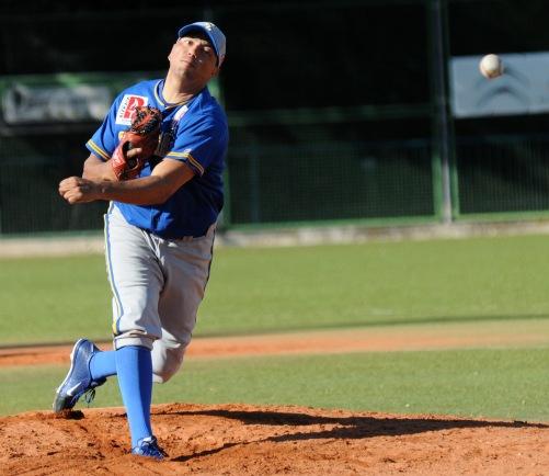Juan Lopez (San Inazio - Beisbol Navarra DH 19.03.17)