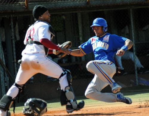 Onelio Fondin (San Inazio - Beisbol Navarra DH 19.03.17)