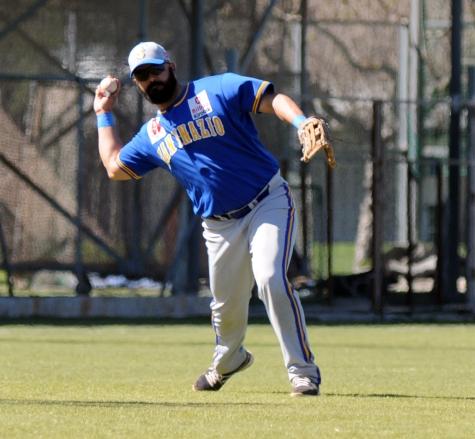 Hector Perozo ( San Inazio - Beisbol Navarra DH 19.03.17 )