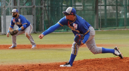 Ibrain Santana - Hector Perozo ( San Inazio - Pamplona DH 11.03.18)